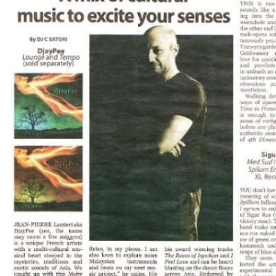 JP Album of the week - Malay Mail 4-Sep-08